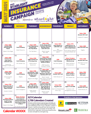 Click for full sample calendar.